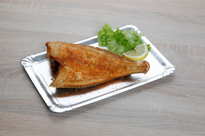 Plaice scheveningen